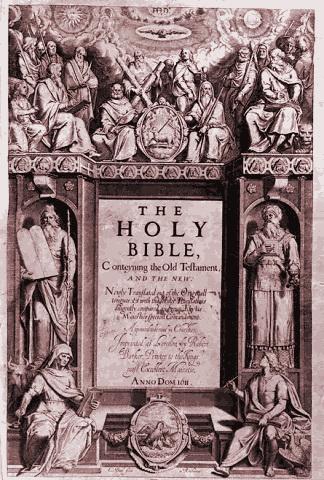 Bible King James Version - Библия короля Якова