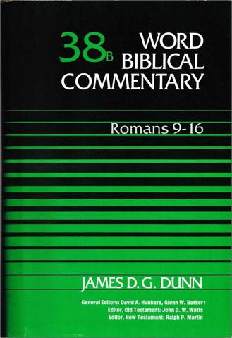 James D.G. Dunn - Romans