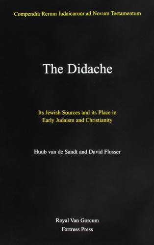 Huub van de Sandt - David Flusser - The Didache