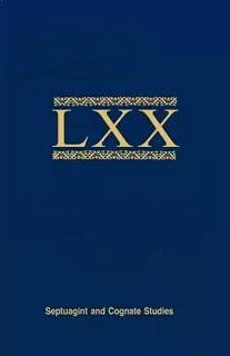 Bulletin of the International Organization for Septuagint and Cognate Studies Volume 42 • 2009