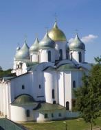 Посвящение Софийского собора - Новгород