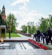 Протестанты России поклонились вечному огню