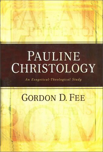 Fee Gordon D. - Pauline Christology