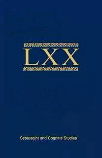 Bulletin of the International Organization for Septuagint and Cognate Studies Volume 42 • 2009