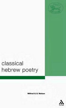 Watson - Classical Hebrew Poetry