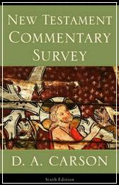 New Testament Commentary Survey - Carson D. A.