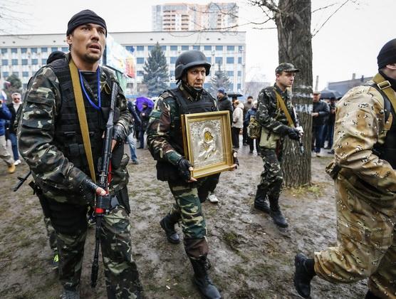 Война на Донбассе российскими боевиками