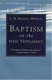 Beasley-Murray G. - Baptism in the New Testament