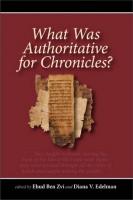 Глатт-Гилад - Книга Хроники как консенсусная историография