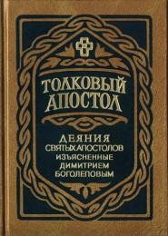Димитрий Боголепов - Толковый Апостол - Деяния святых апостолов