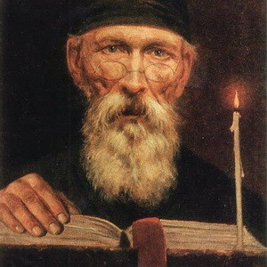 Тропинин Монах со свечой