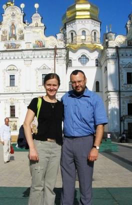 Андрей Пузынин с женой