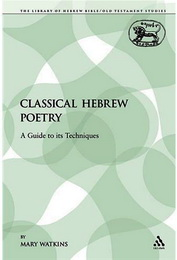 Watson - Classical Hebrew Poetry